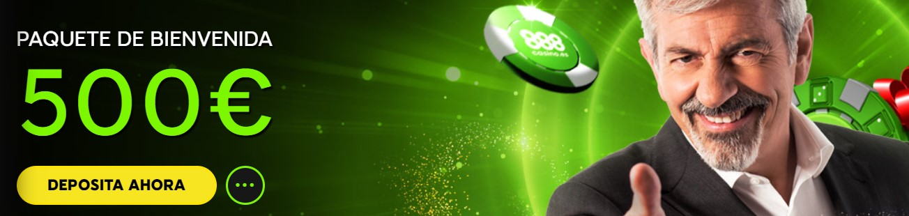 500€ bono de bienvenida casino 888