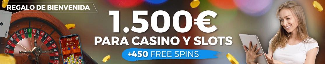 bono de bienvenida Casino Pastón, Hasta 1500€.