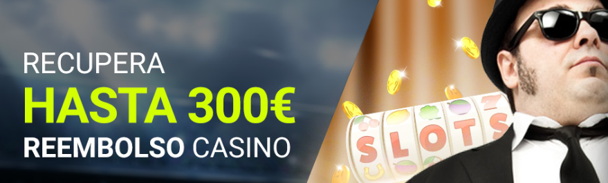 recupera hasta 300€ casino Luckia