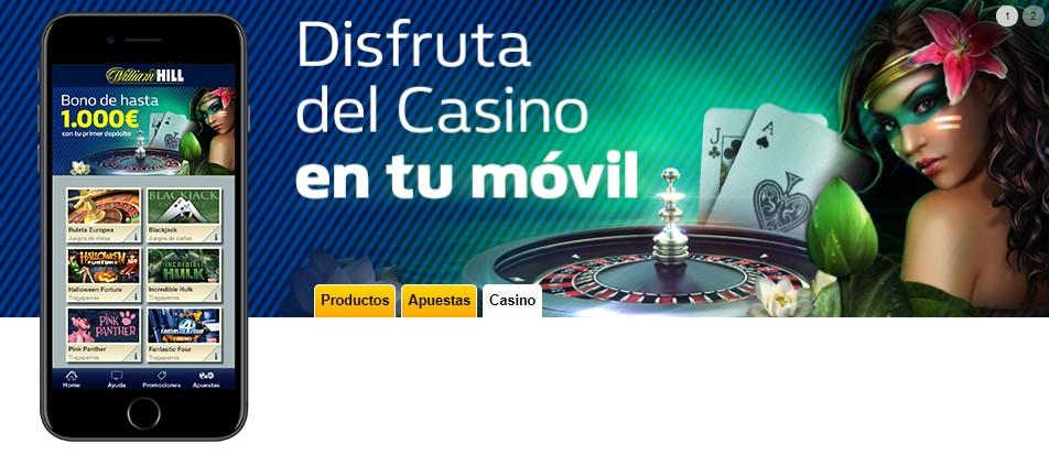 app móvil casino