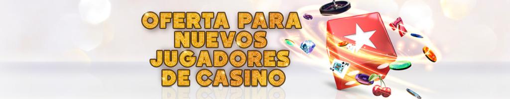 Oferta para nuevos jugadores de casino Pokerstars