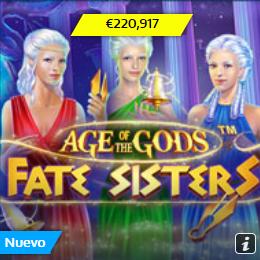 Age of the Gods Jackpot Casino William Hill