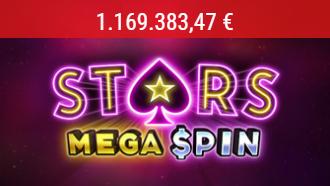 Stars Spins Mega Spin PokerStars Jackpot