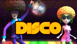 disco vídeo bingo