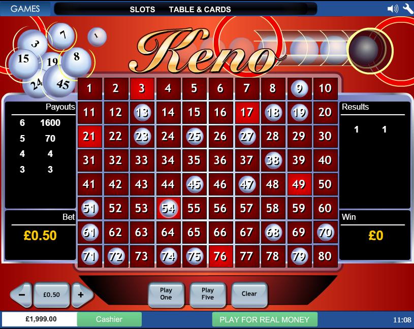 keno ¿qué es el keno y cómo se juega?