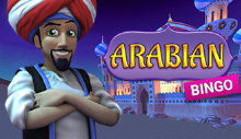 arabian, vídeo bingo
